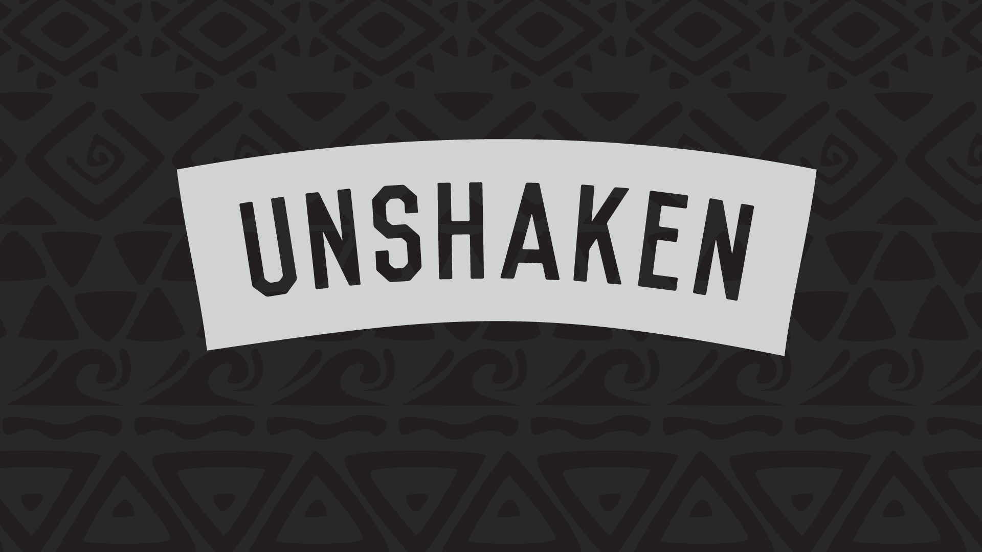Unshaken by Our Sin Disease