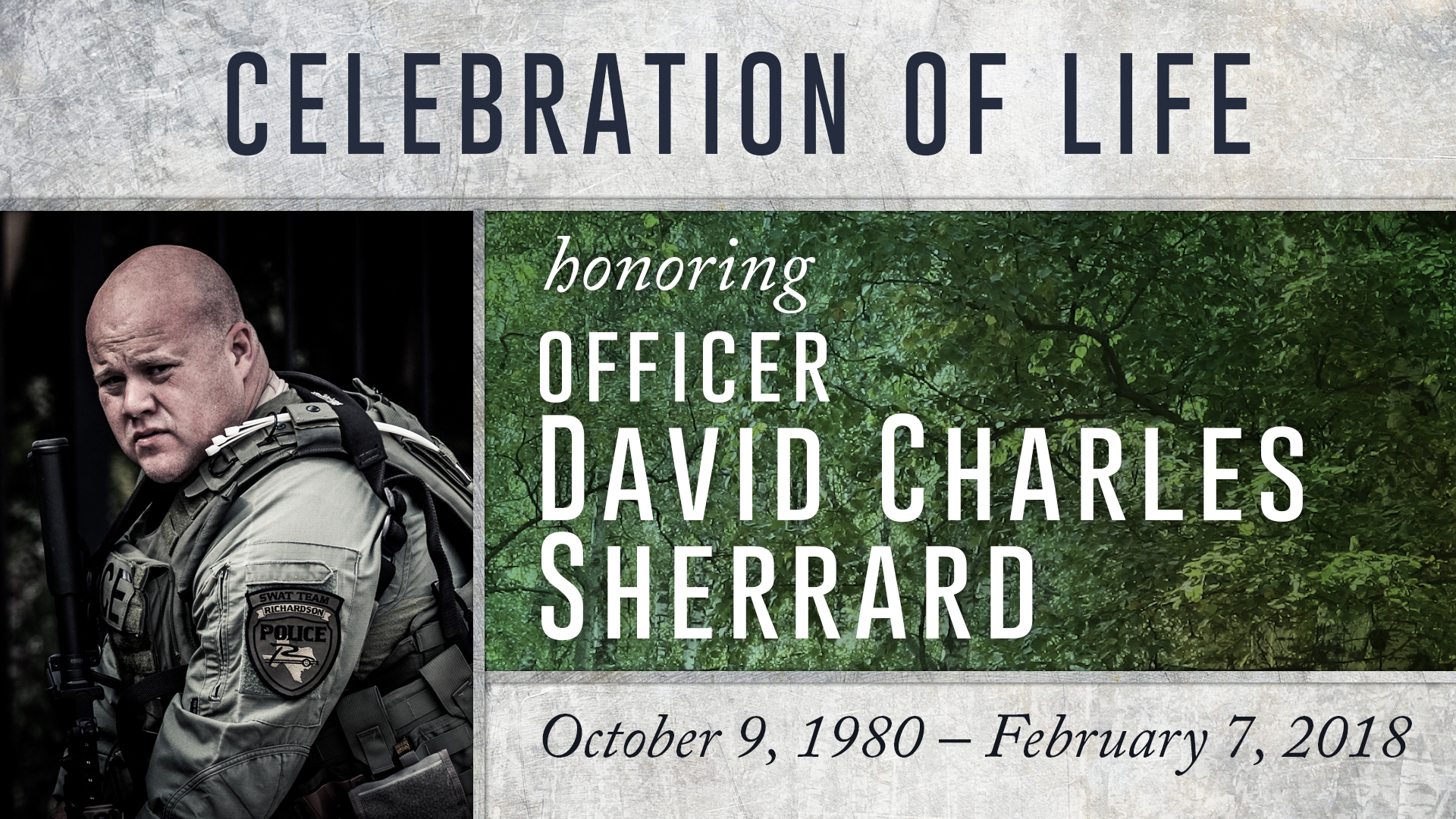 Sherrard Celebration of Life