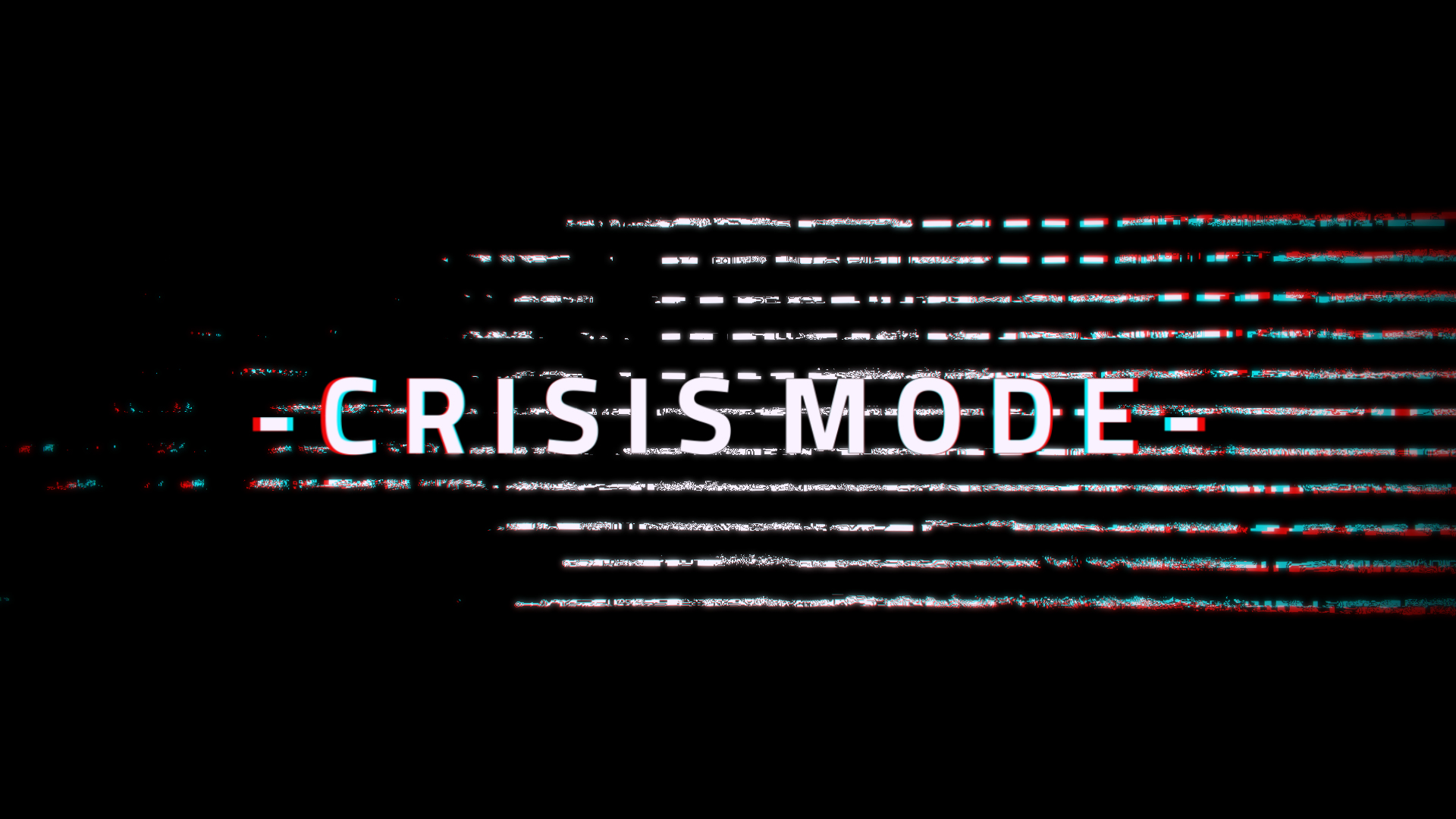 "Crisis Mode: ""Redeeming The Days In This Present Crisis"""
