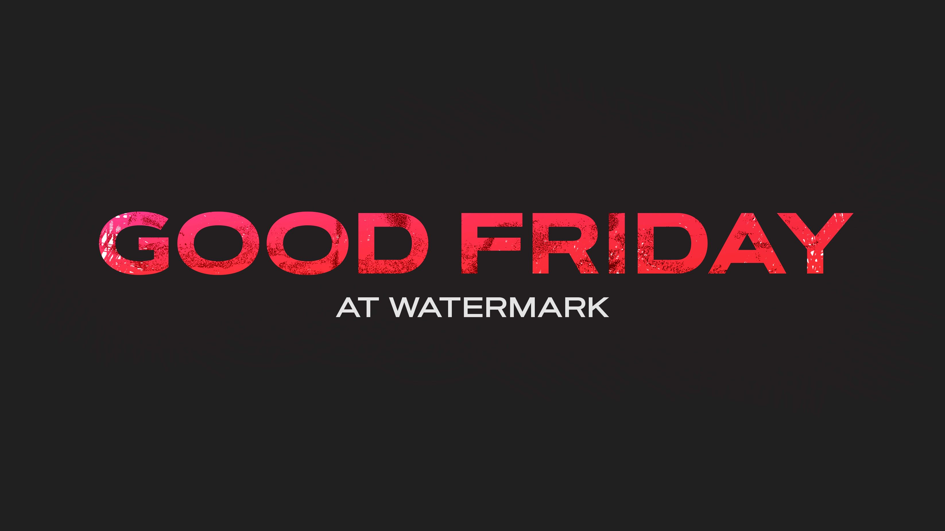 Good Friday | In the Waiting (Plano)