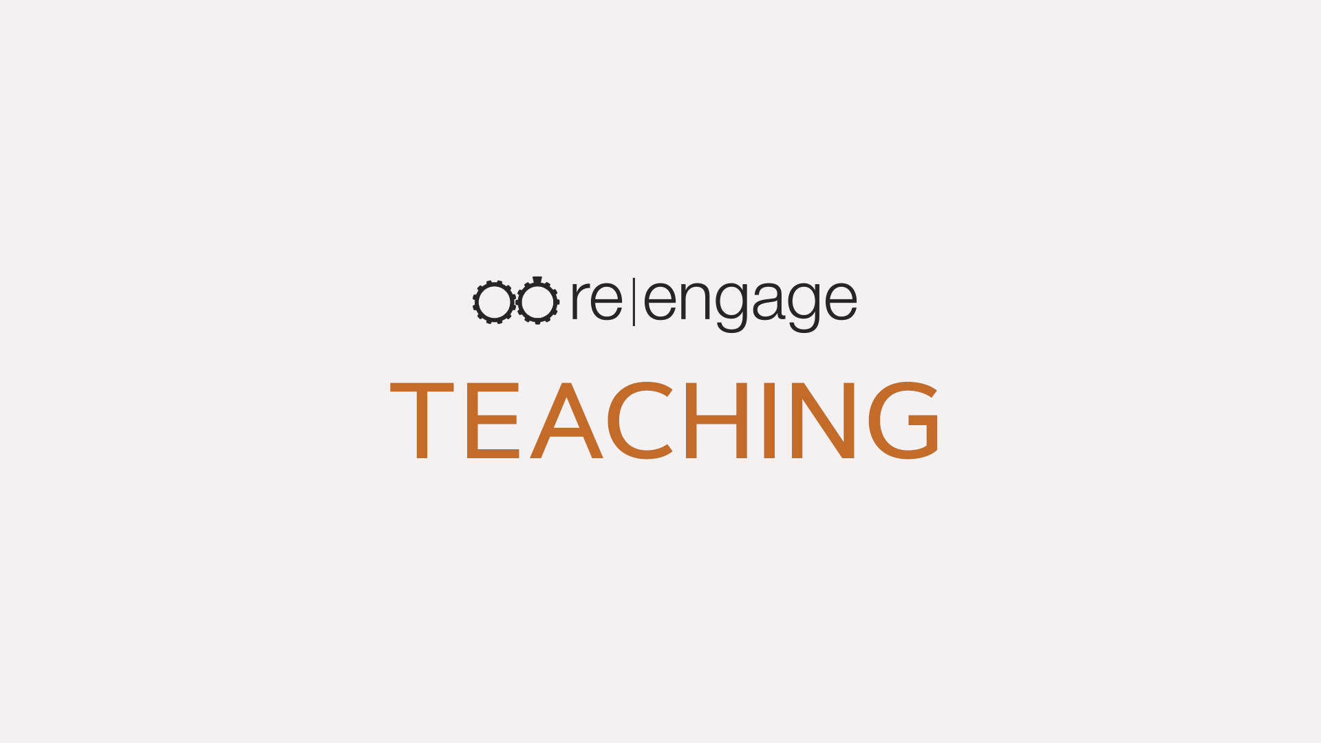 Teaching – You'll Lead, I'll Follow