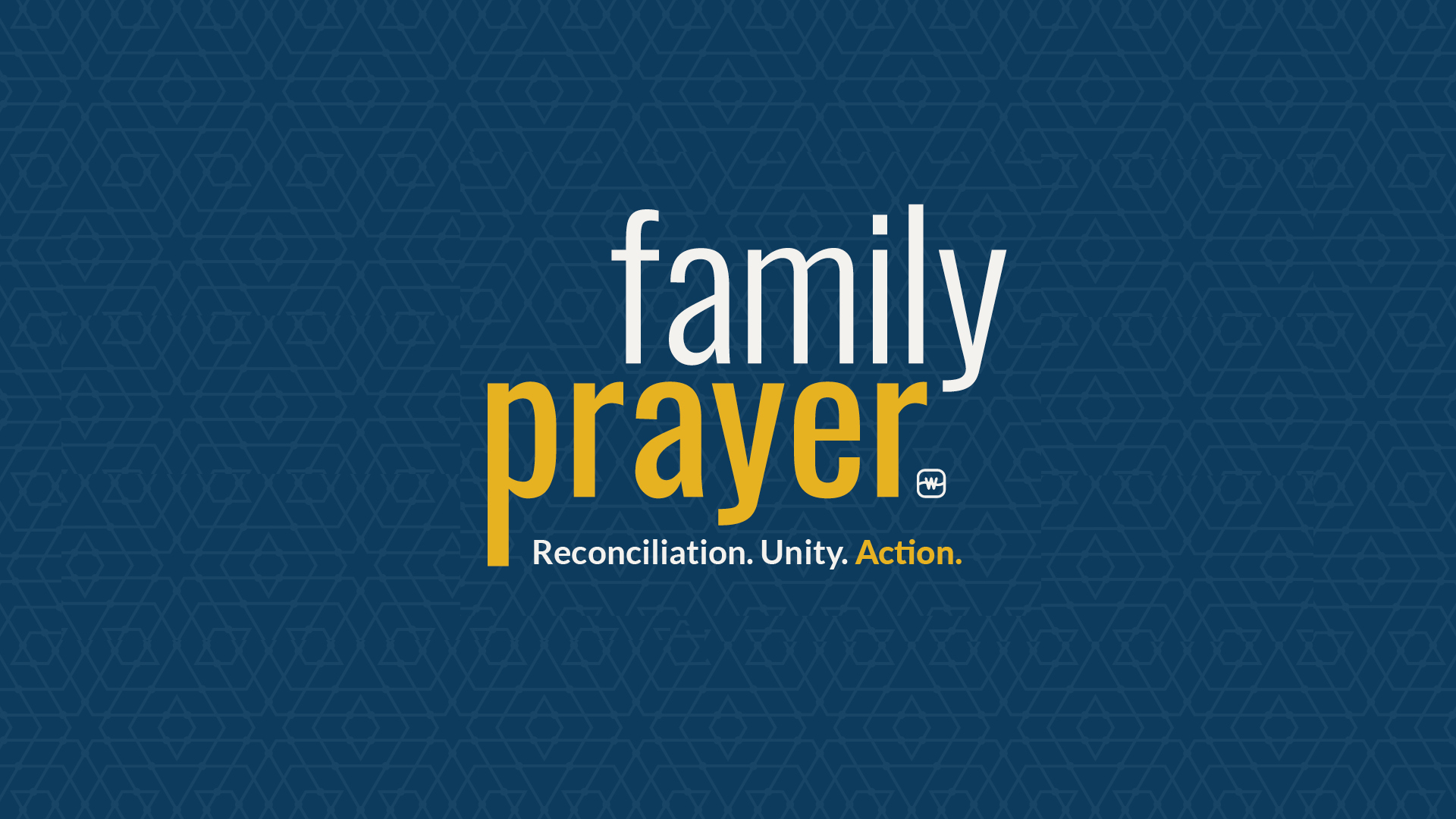 Watermark Family Prayer: Reconciliation, Unity, and Action