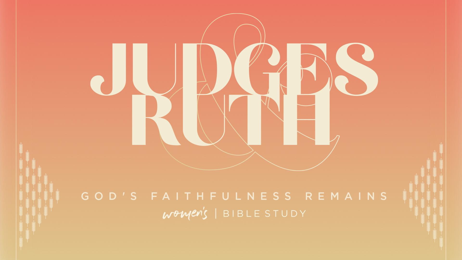 Introduction to Judges & Ruth