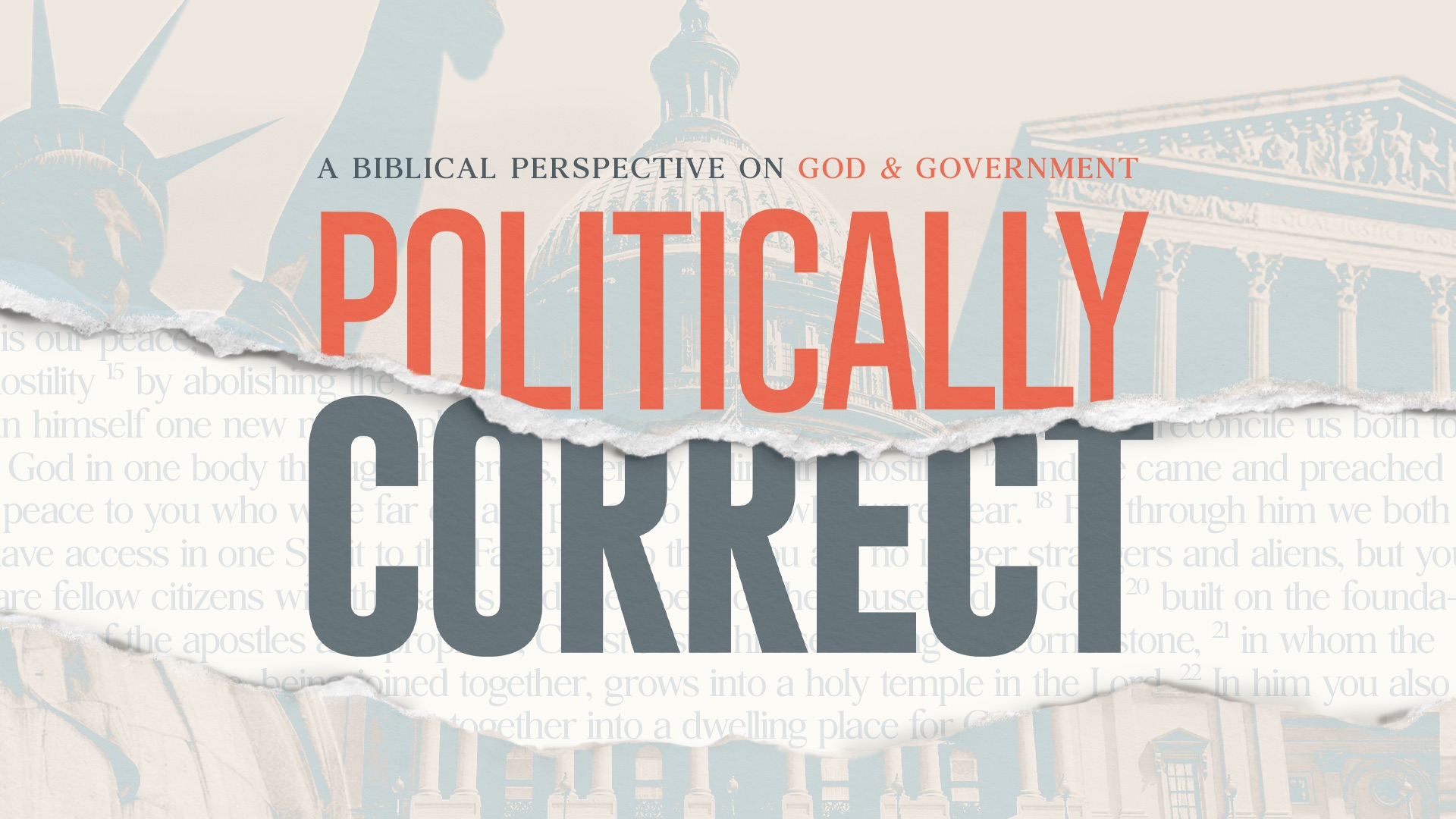 Politically Correct: Prayer, Fasting, and Communion