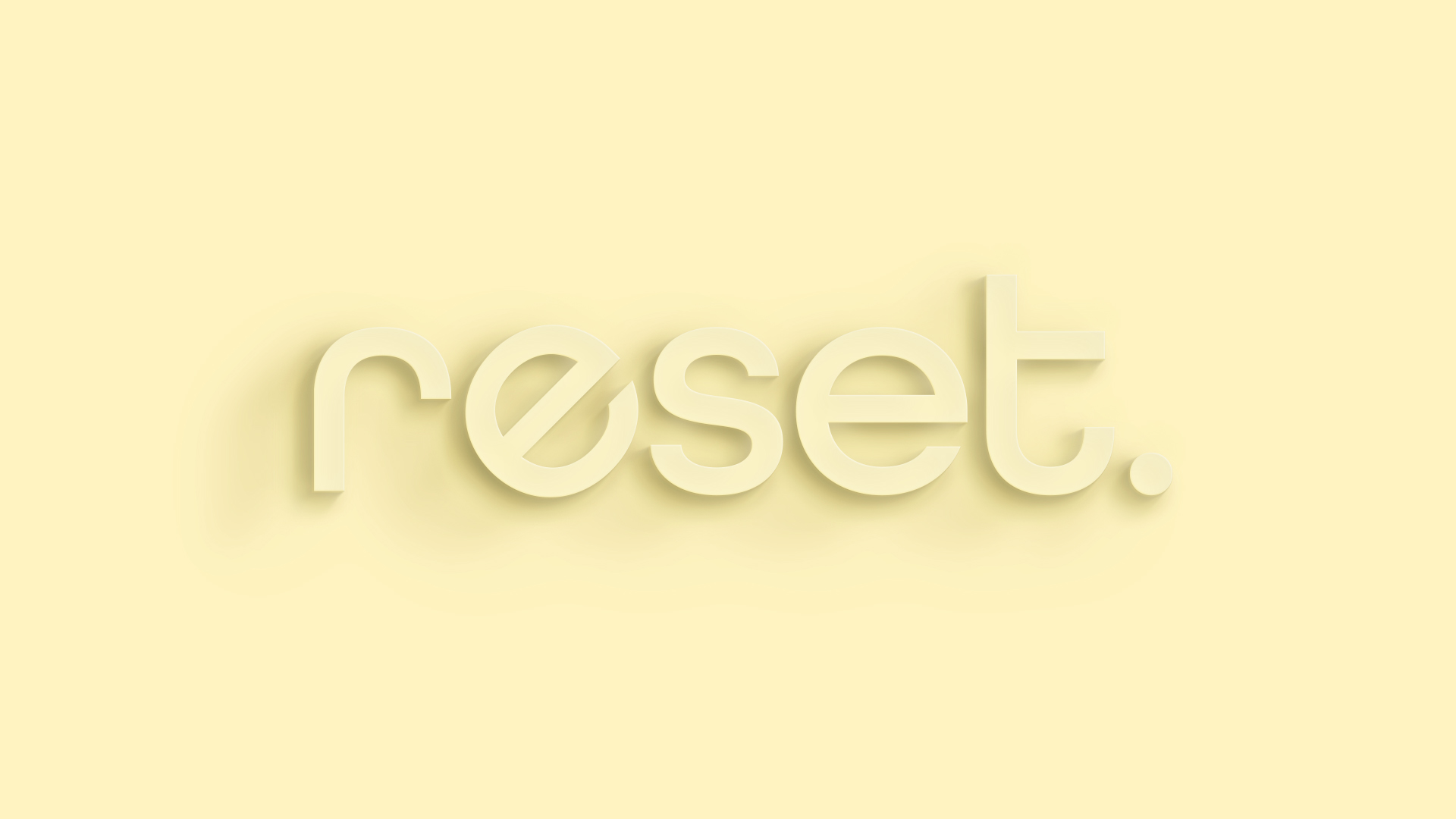 RESET: Resetting Your Relationships