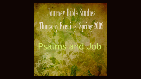 Welcome to the Thursday Evening Journey Bible Study