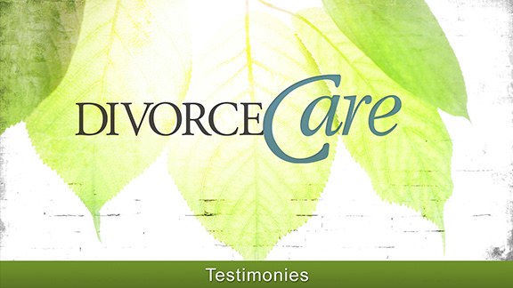 David - DivorceCare Testimony