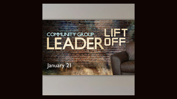 Community Group Leader Liftoff