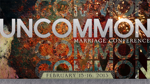"Main Session 1 - An UNCOMMON ""I Do"""
