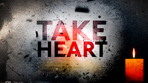Take Heart: The Difference Between Jesus' Trouble and Ours